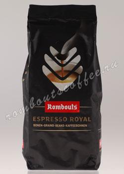 Кофе Rombouts в зернах Espresso Royal