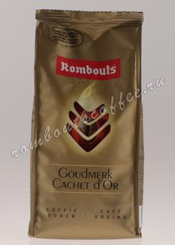 Кофе Rombouts в зернах Goudmerk Cachet d Or
