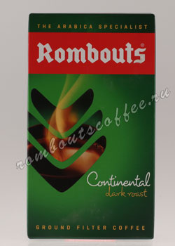 Кофе Rombouts молотый Continental