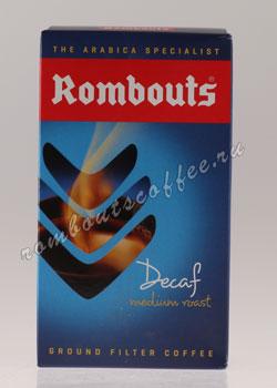 Кофе Rombouts молотый Decaf