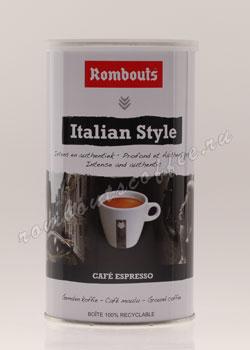 Кофе Rombouts молотый Italian Style