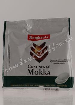 Кофе Rombouts в чалдах Continental Mokka