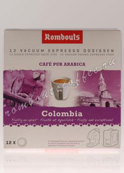 Кофе Rombouts в чалдах Colombia