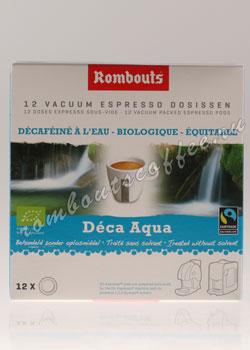 Кофе Rombouts в чалдах Deca Aqua (Без кофеина)