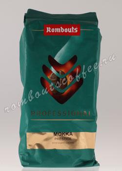Кофе Rombouts в зернах Professional Mokka Prestige